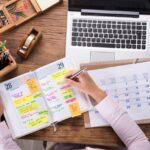 Come organizzare l'agenda: personale, di lavoro o di casa