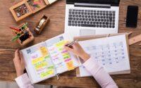 Come organizzare l'agenda