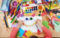 lavoretti per bambini con cartoncini colorati