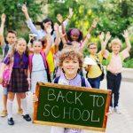 Rientro a scuola senza stress: alcuni consigli per affrontare al meglio la fine delle vacanze